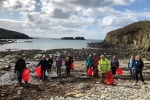 Beach clean highlights tide of plastic pollution